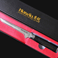 High Quality 8 Inch Utility Chef Knives Imitation Damascus Steel Santoku Kitchen Knives Sharp Cleaver Slicing