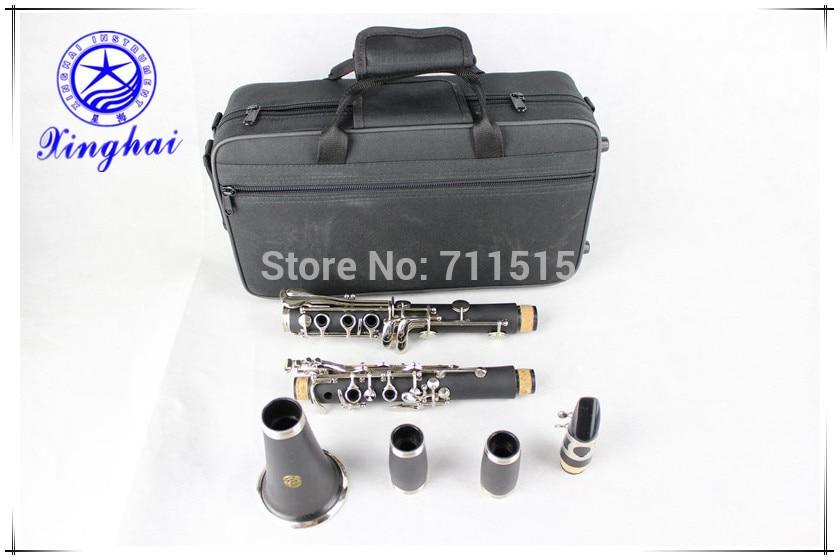 xinghai stock 17-key clarinet Bakelite drop B tuning