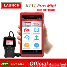 LAUNCH X431 PRO PROS MINI OBD2 Scanner Bluetooth WIFI Car Diagnostic Scanner Tool ECU Coding Automotive Tools as Launch x431 V 8 2017 new launch x431 easydiag 2 0 obd2 bluetooth adapter original launch easydiag free diagnostic cable for android ios as gift