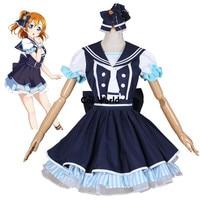 Liefde Live School Idool Project Kousaka Honoka Zee Piraterij Pirates Matrozenpakje Jurk Schooluniform Outfit Anime Cosplay Kostuums