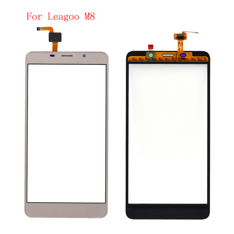 High Quality For Leagoo M8 Touch Screen Panel Phone Parts With Free Shipping And Tools-in Mobile Phone Touch Panel from Cellphones & Telecommunications