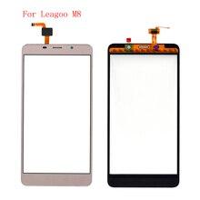 عالية الجودة ل Leagoo M8 لوحة شاشة لمس أجزاء الهاتف مع شحن مجاني وأدوات