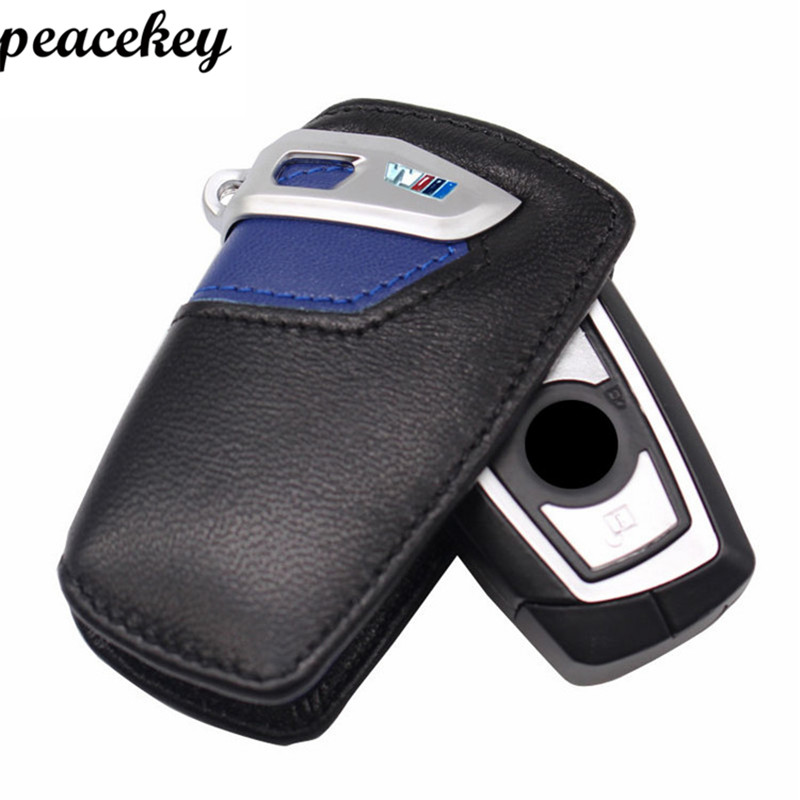 Peacekey Genuine Leather Keychain Car Key Cover Case For Bmw F30 F20 F10 F31 2 3 4 5 6 Series X3 X4 320I 116I 328I 530I Key Case