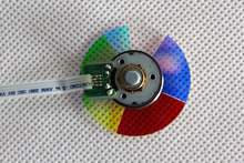 (NEW) Original DLP Projector Colour Color Wheel Model For Dell 1209s color wheel