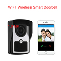 Free Shipping WiFi Wireless Smart Video Doorbell Phone intercom Peehole Camera Remote Unlock  home Alarm Android IOS Smart Home