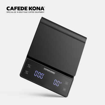 household electric scale Portable 3kg/0.1g  Drip Coffee Scale With Timer Electronic Digital Kitchen Scale High Precision LED - DISCOUNT ITEM  15% OFF All Category