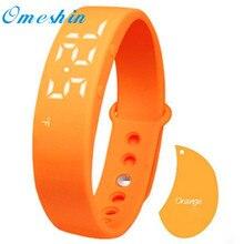 Лидер продаж! Новый подарок шагомер Sleep Monitor Температура Браслет Смарт часы наручные часы наивысшего качества fsshion 30DEC23