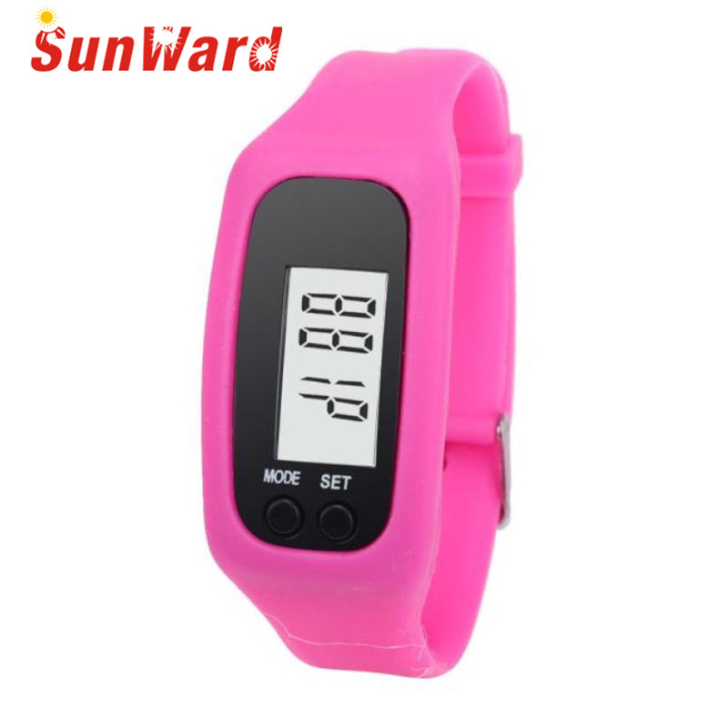 Watch Mens Women Drop Shipping Gift Relogio Digital LCD Pedometer Run Step Walking Distance Calorie Counter Bracelet June22 drop shipping gift boys girls students time clock electronic digital lcd wrist sport watch july12