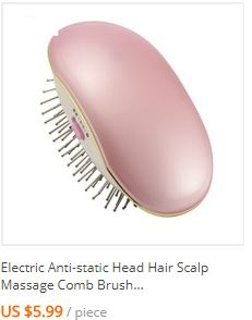 Electric Pro Hair Dryer Comb Multifunctional Infrared Negative Ion Hot Air Comb Straight Hair Curling Comb Hairdryer