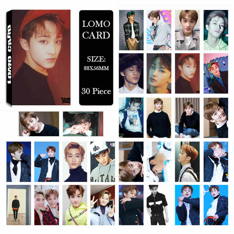 KPOP NCT U 127 NCT127 NCTU Dream MARK LIMITLESS TOUCH EMPATHY REALITY Album  LOMO Cards Self Made Paper Photo Card Photocard