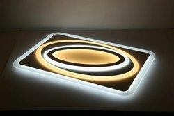 Wysokiej jasności nowoczesne lampy sufitowe Led dla dzieci pokój dzienny sypialnia ściemniania + lampy sufitowe RC pokoju