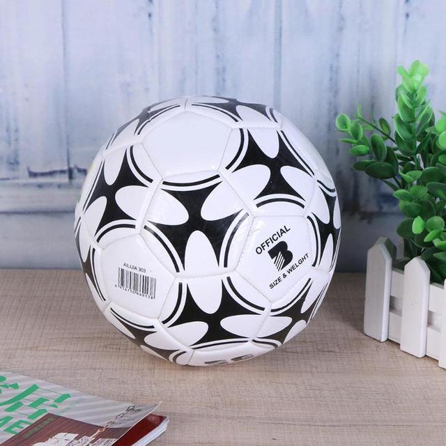 Size 3 Soccer Ball For Teenager Children Outdoor Sports Training Ball Durable PVC Popular Soccer Ball