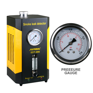 AUTOOL SDT206 автомобильный детектор утечки дыма автомобильный EVAP тестер утечки локатор Авто Диагностический генератор воздухозаборника мочевого пузыря подушка безопасности
