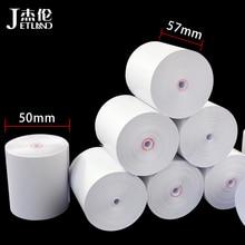 Thermal-Paper Cash Register 4-Rolls 57x50-Mm Jetland Coreless Long-Meters Super