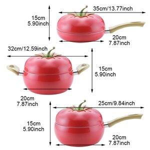 Image 2 - Non Bastone di Frutta a Forma di Padella per Pentola di Cottura di Colore Casseruola Pan Grill Pan Induzione Fornello a Gas di Alluminio Pentolame E Utensili per Cucinare utensili da Cucina