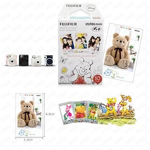Image 3 - Genuine Fuji Fujifilm Instax Mini Filme Winnie Pooh 10 Folhas Para 9 9 8 7s 90 25 dw 50i 50s Partes SP 1 SP 2 Liplay Câmera Instantânea