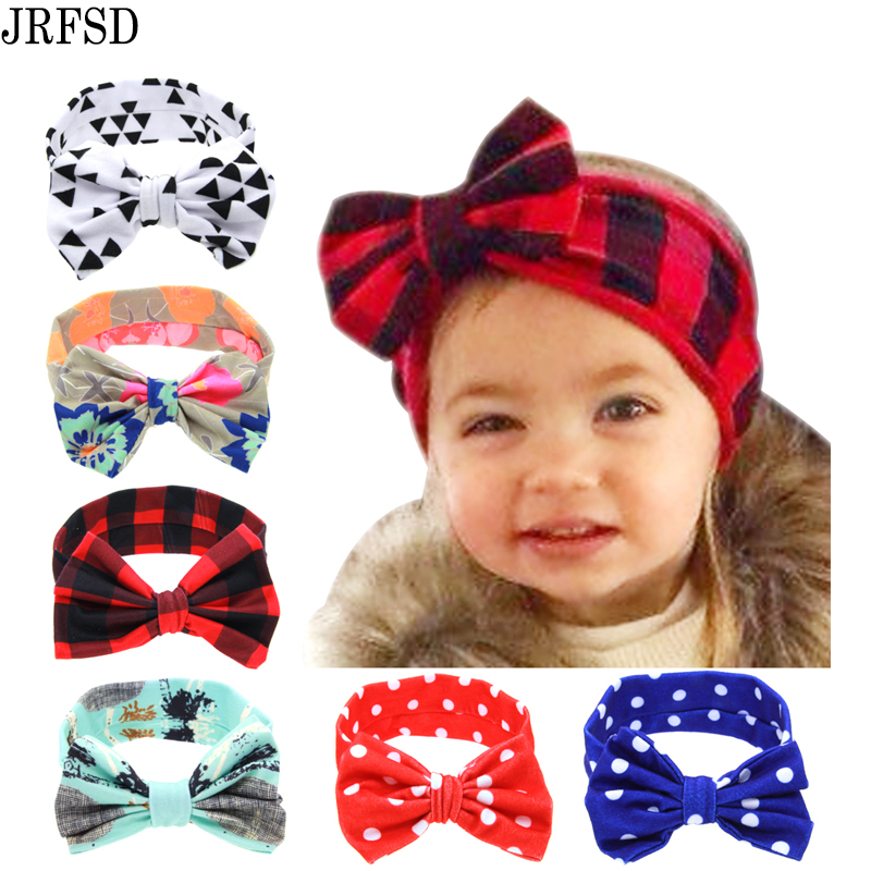 JRFSD 2017 DIY Free Size Flower Hairband Soft Kids Cross Headband - Αξεσουάρ ένδυσης