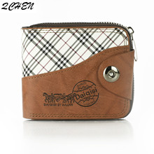 Men wallet Vintage Hollow Out Male Money Bag Hasp Leather Wallet Men Clutch Purse Slim Card Holder Men Wallets Coin Pocket 462