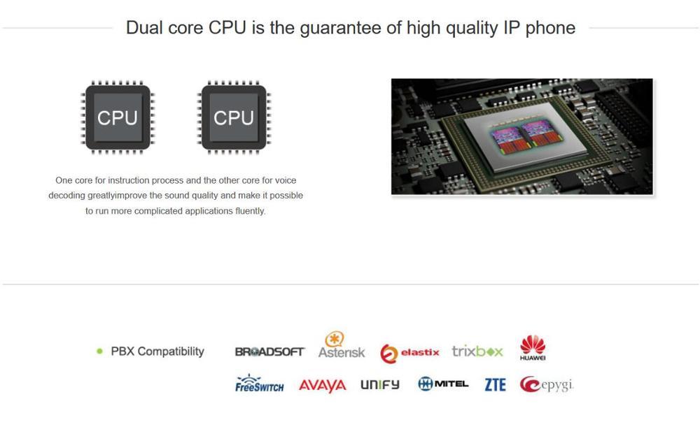 R$ 465 65  ATCOM A48W 4 Linha SIP WiFi Entry level negócios SIP Telefone  sem fio, Telefone IP da cor da tela, área de Trabalho do operador sip