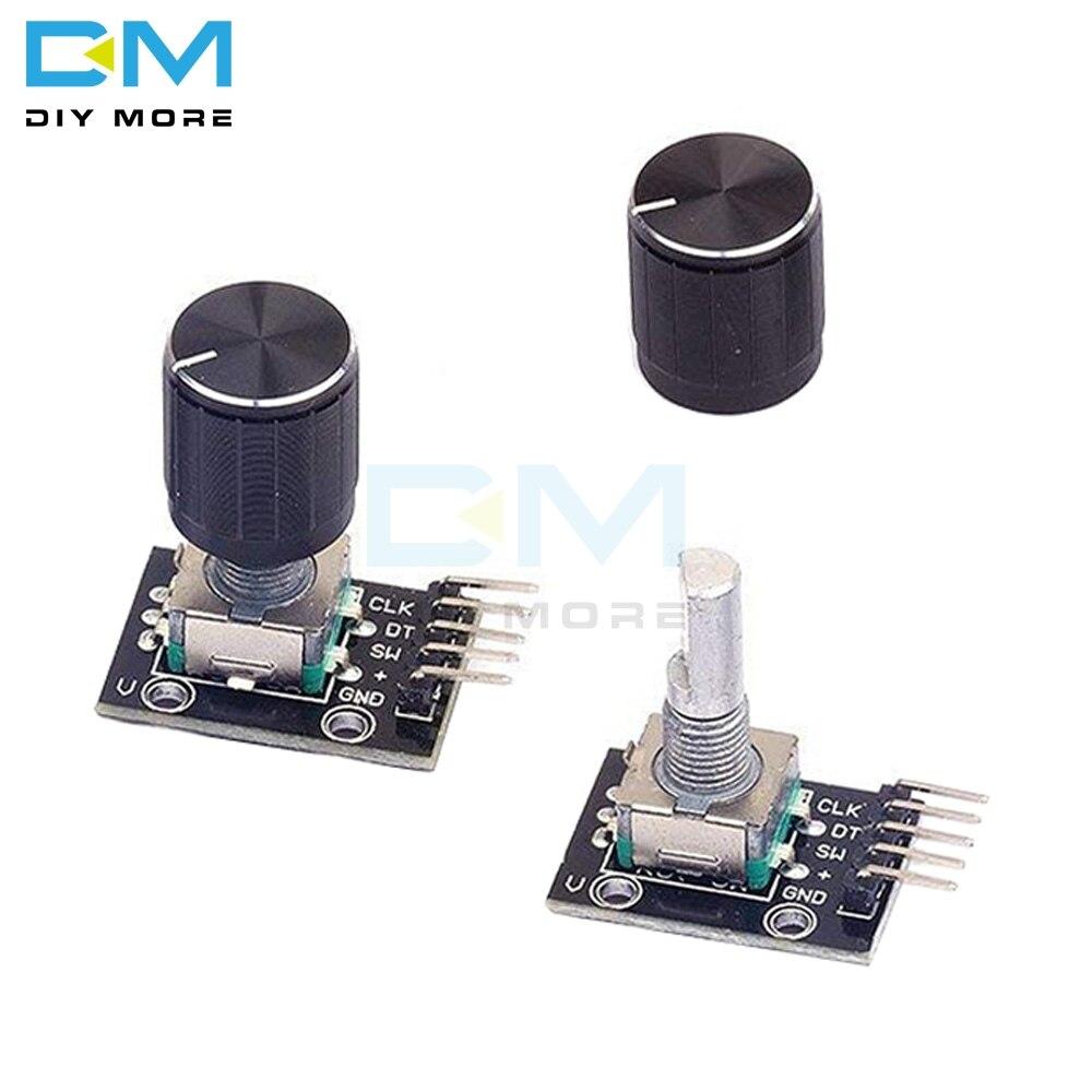 2PCS EC11 EC12 EC16 Rotary Encoder Brick Sensor Development KY-040 Module
