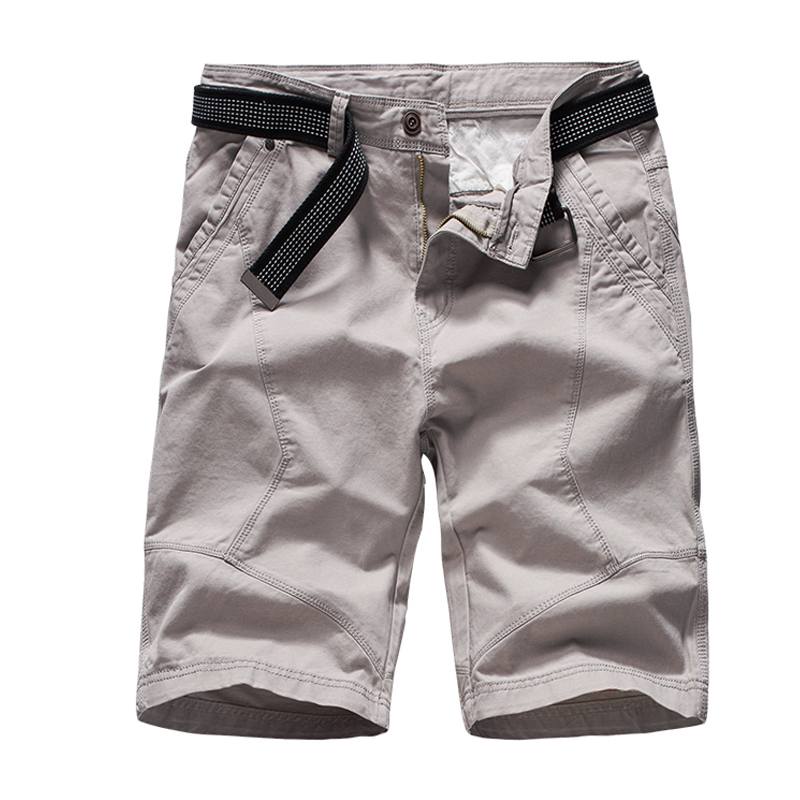 2019 Summer New Men 39 s Basic Shorts Smart Casual Fashion Solid Color Bottoms Male Homme Cargo Shorts Plus Size 38 in Casual Shorts from Men 39 s Clothing