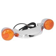 Хромированный задний светодиодный тормозной светильник для мотоцикла, указатель поворота для Harley Touring Street Road Glide 2010- 17 16 15 14 13 12 11, новинка