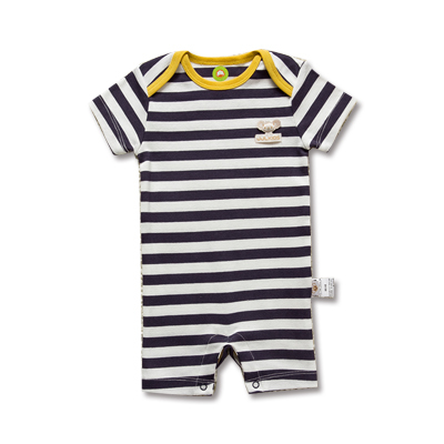 Toddlers NWT Short Sleeve One-piece Rompers Outwear Striped Size 6-18 Months short form for months