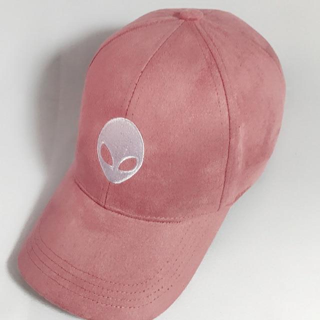 2c4176bb321 Hot sales aliens Outstar saucer Space E.T UFO fans black suede fabric snapback  baseball cap hat for men women solid hip hop cap