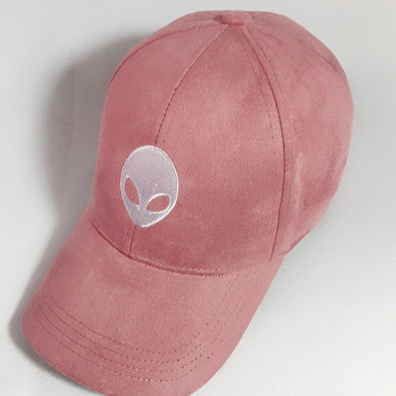 Prix pour Ventes chaudes étrangers Outstar soucoupe Espace E.T UFO fans noir en daim tissu snapback baseball cap chapeau pour hommes femmes solide hip hop cap