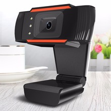 HD Webcam 3LED 480P PC Camera with Absorption Microphone MIC for Skype for Android TV Rotatable Computer Camera USB Web Cam