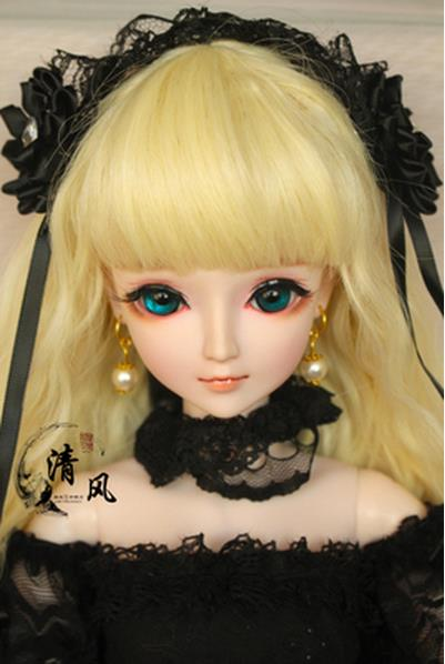 FULL SET Top quality 60cm bjd 1/3 girl doll wig clothes all included !night lolita reborn baby doll best hexiang gift kid toy 1 6 scale bjd lovely kid sweet baby cute nana resin figure doll diy model toys not included clothes shoes wig