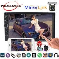 2Din 7Inch Car Radio MP5 Player Video Stereo Bluetooth Touch Mirror Link Screen FM USB radio cassette player Mirror Autoradio