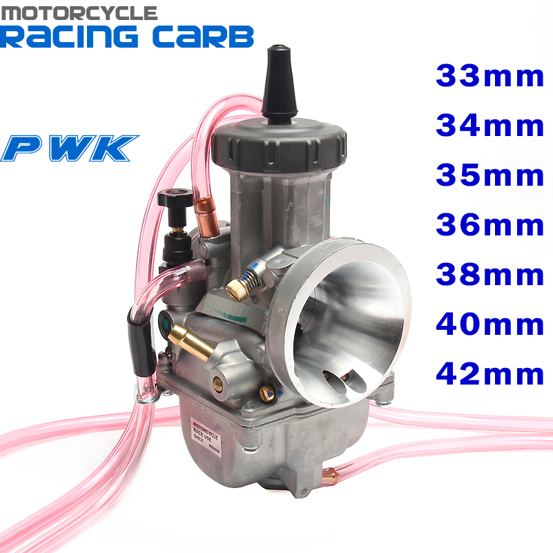 Carburateur PWK 33 34 35 36 38 40 42mm Carb de course universel 2 T 4 T moteur Dirt Bike Motocross moto Scooter ATV QuadCarburateur PWK 33 34 35 36 38 40 42mm Carb de course universel 2 T 4 T moteur Dirt Bike Motocross moto Scooter ATV Quad