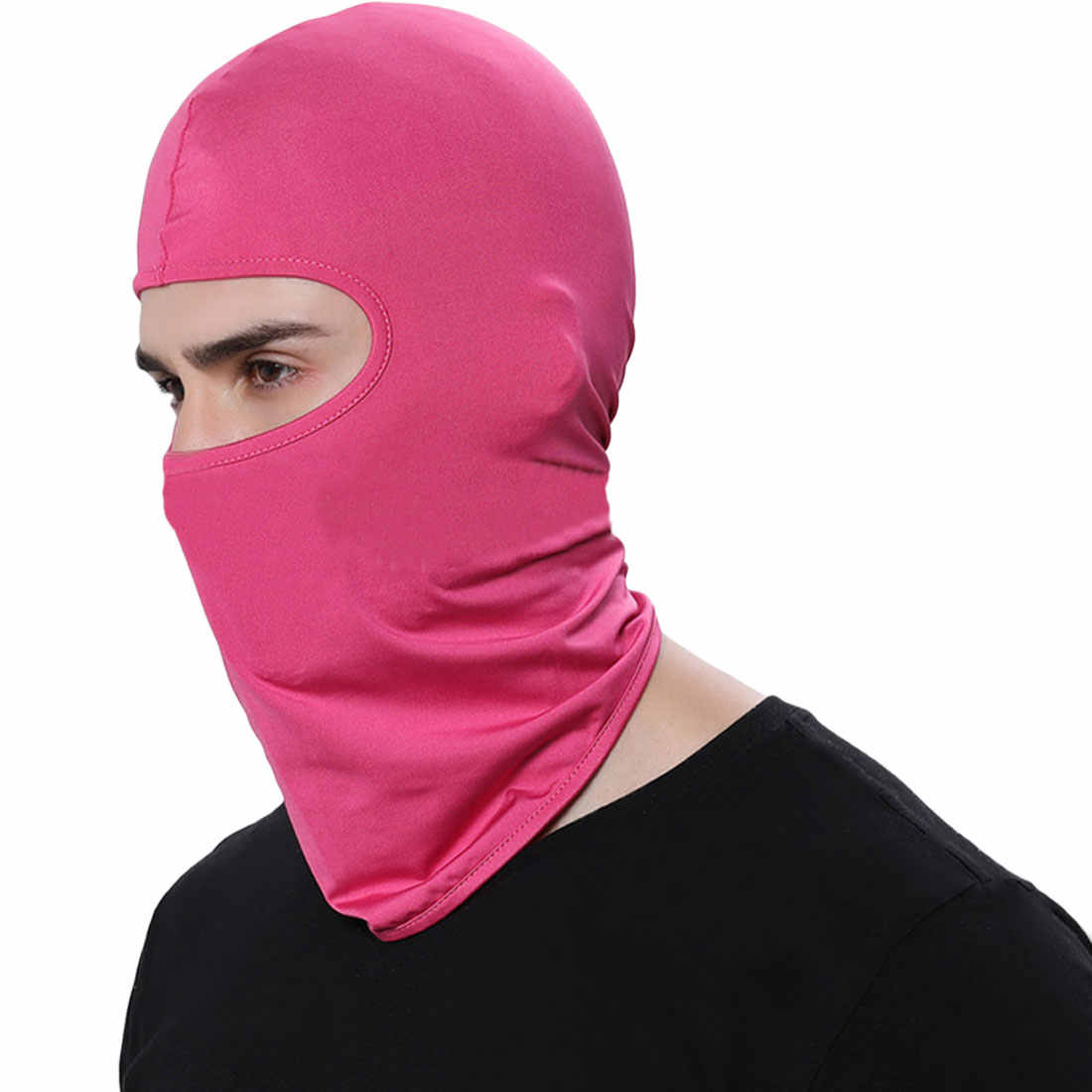 Outdoor Sports Neck Motorcycle Face Mask Winter Warm Ski Snowboard Wind Cap  Police Cycling Balaclavas Face 9f481082b429
