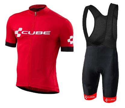 NEW CUBE Black Team 2018 Cycling Jersey Sets MTB Bike Bicycle Breathable shorts Clothing Ropa Ciclismo Bicicleta Maillot Suit 2017 pro team cycling jersey bibs shorts set mtb bicycle clothing full sets ropa maillot ciclismo bike wear suit for bicycle men