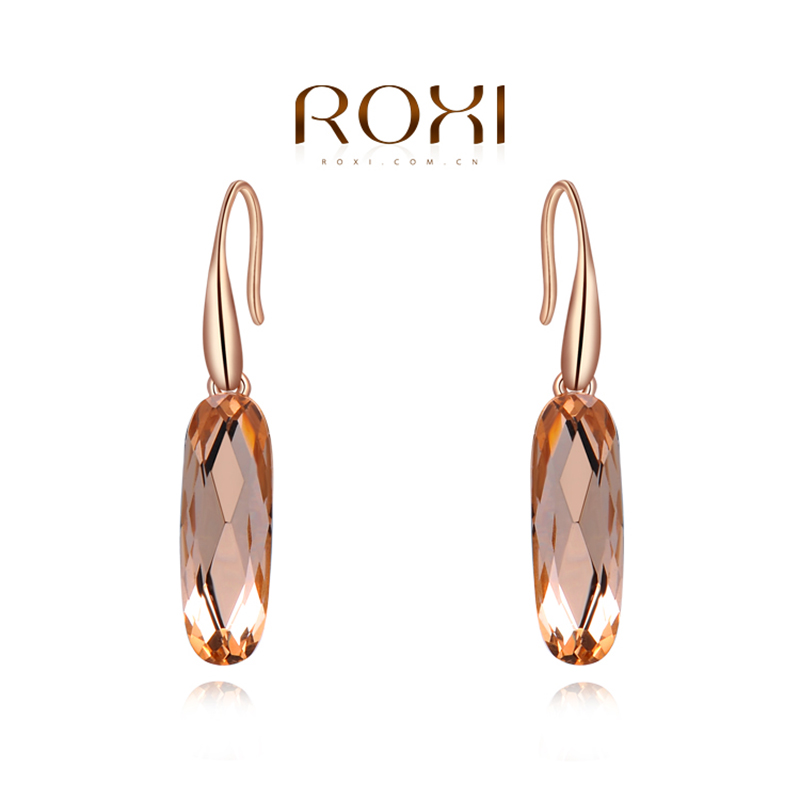 ROXI Brand Earrings For Women Fashion Jewelry Rose Gold Color