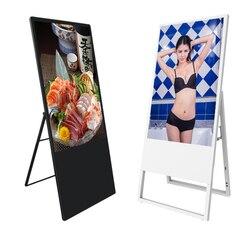 43 zoll tragbare Faltbare LCD LED HD digital signage werbung display monitor bildschirm für shop/einzelhandel store/mall