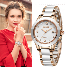 SUNKTA 2019 New Rose Gold Watch Women Gift Quartz Watches Ladies Top Brand Luxury Female Wrist Watch Girl Clock Relogio Feminino