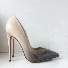 Marke Frauen Pumpt Schuhe High Heels Hochzeit Brautschuhe Frau High Heels Stilettos Sexy Spitz Damen Schuhe Heels FS-0088