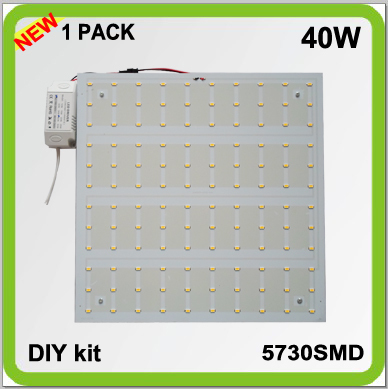 Producent DIY INSTALL 220V 230V 240V DIY kits overflade monteret 40W LED pcb loft lyskilde techo led panel 30 * 30cm 4200lm