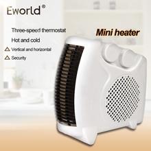 Práctico calentador portátil, ventilador de aire caliente, ventilador de habitación eléctrico, práctico calentador de aire, radiador, Mini calentador eléctrico para el hogar, calefacción de oficina