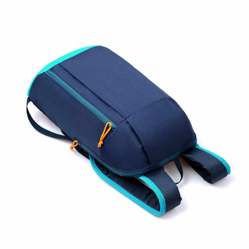 Masion Fabre Спорт на открытом воздухе легкий Водонепроницаемый рюкзак для путешествий походная сумка для мужчин и женщин детская молния регулируемый ремень Кемпинг ранец