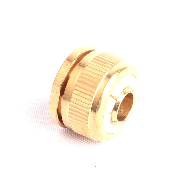 Beau 1pc 1/2 Inch Female Thread Brass Standard Connectors Water Gun Fitting Garden  Hose Brass