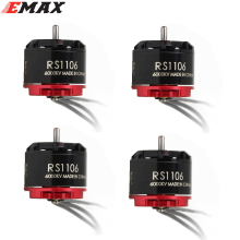 4set/lot Original EMAX RS1106 4500KV 6000KV 7500KV MINI Brushless Motor RC FPV Racing MINI Violent Indoor Quadcopter