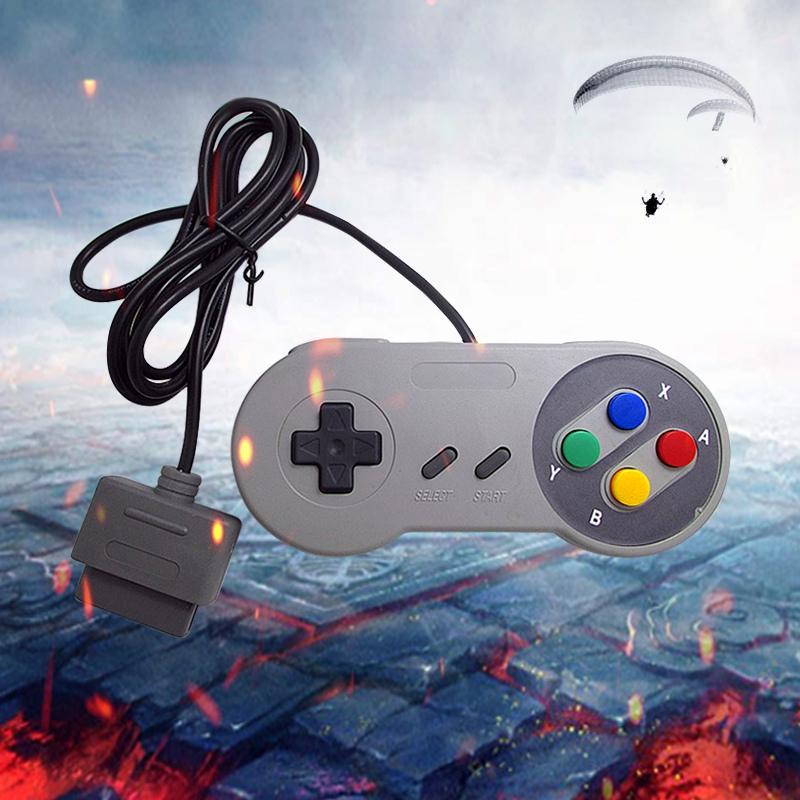 Image 5 - Classic 16 Bit Game Controller ABS for Super Nintend SNES System Console Control Pad-in Gamepads from Consumer Electronics