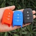 Силиконовые ключа автомобиля брелок кожа комплект чехол держатель для kia rio sportage ceed 2016 sorento cerato K2 K3 K4 K5 smart remote защищены