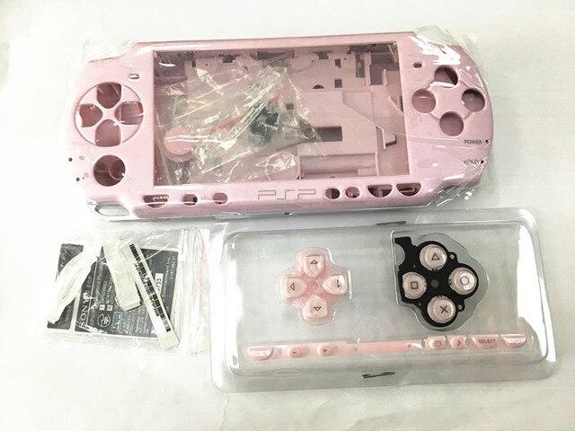 Pembe ve Mor Renk PSP Kılıf 2000 Tam Kabuk Konut PSP 2000 Için Kılıf