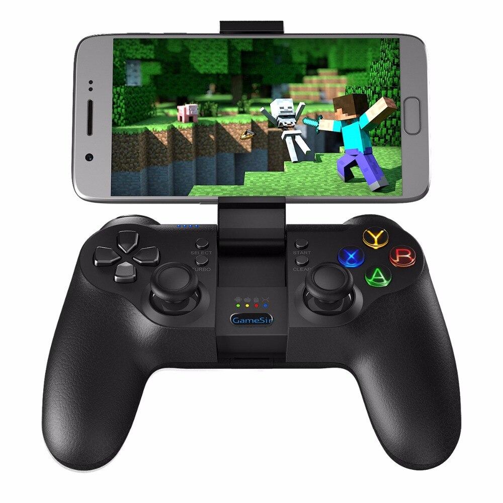GameSir T1s Mobile Gamepad pour PS3 Contrôleur de Jeu Bluetooth 2.4 ghz USB Filaire pour SONY Playstation PC/VR/ TV Box Android Téléphone