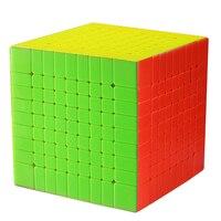 Чжишен Yuxin Хуанлун 9 слоев Cube Stickerless/черный 9x9x9 куб головоломка 9 слоев игрушки для детей YX1069
