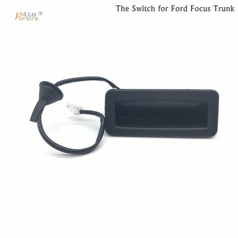 Freies verschiffen Auto Heckklappe Stamm Boot Release Schalter für Ford Focus MK2 2004-2008 3M5119B514AC